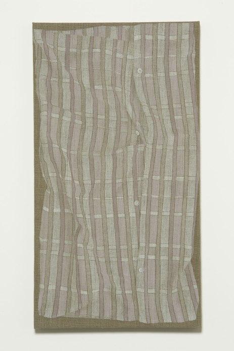 H.Appel, Pillow case, 2014, acrilico e acquerello su lino_acrylic and watercolor on linen, cm.79x43 (hang).jpg