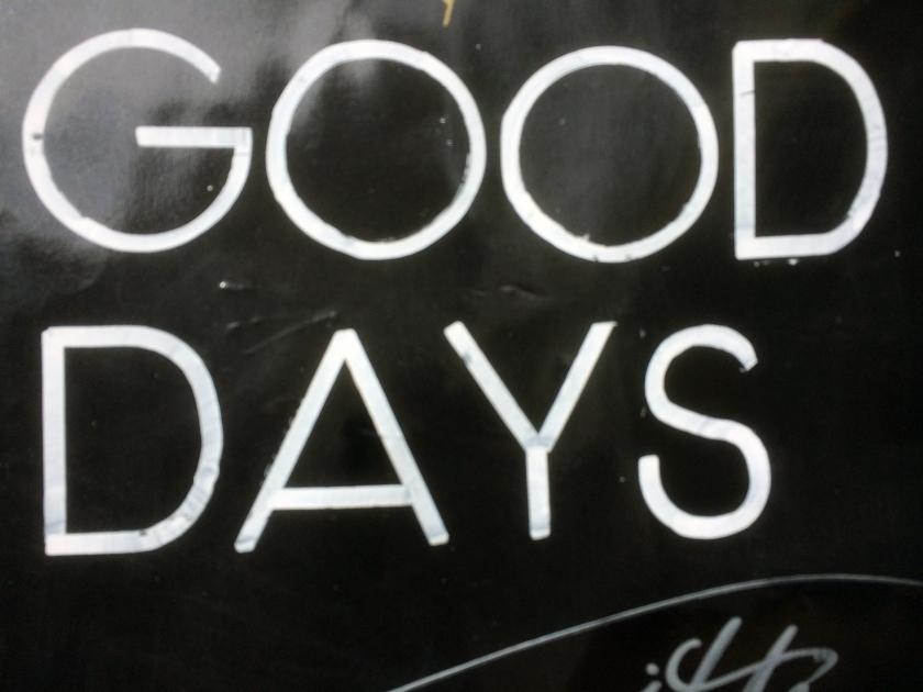 018 - Good days