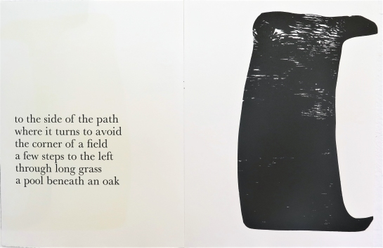 004 - Ian McKeever, That which appears, 1993 Artists' collaboration 22 woodcuts by Ian Mckeever and poems by Thomas A Clark, Published by Paragon Press, London