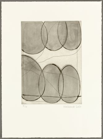 013 - Ian McKeever, Assembly Etching, 2007, (1 out of 5) paper size 51 x 38cm, Published by Alan Cristea Gallery, London