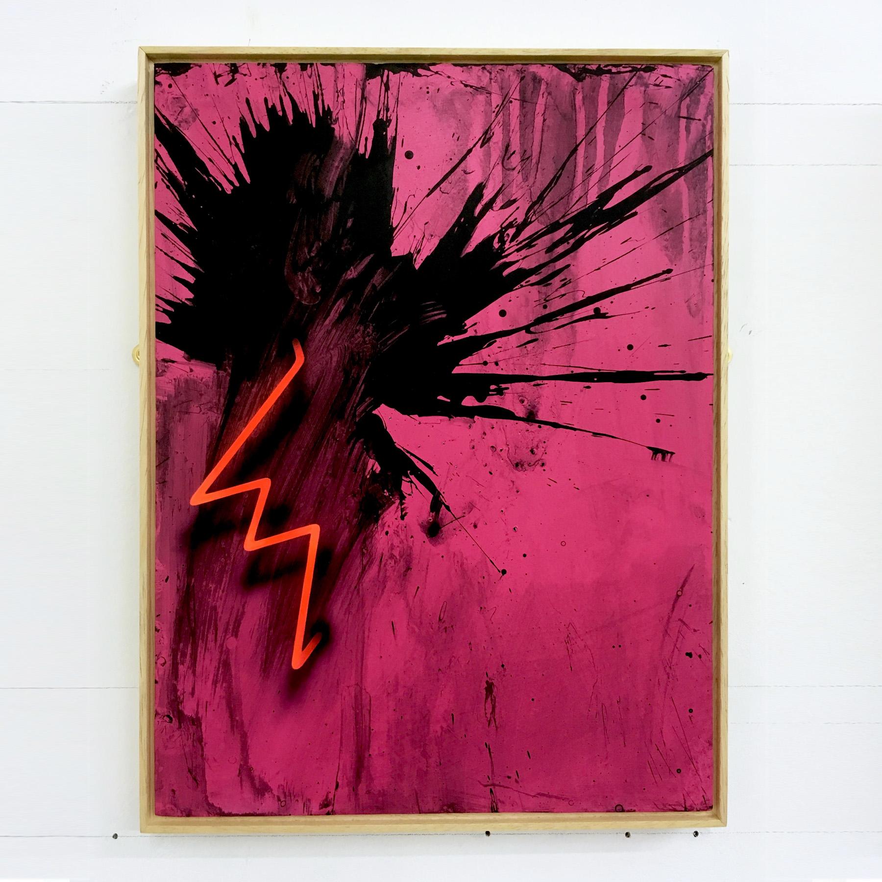 005 - Mike Edwards - Black Firework Painting 190919 (40x30cm).jpg