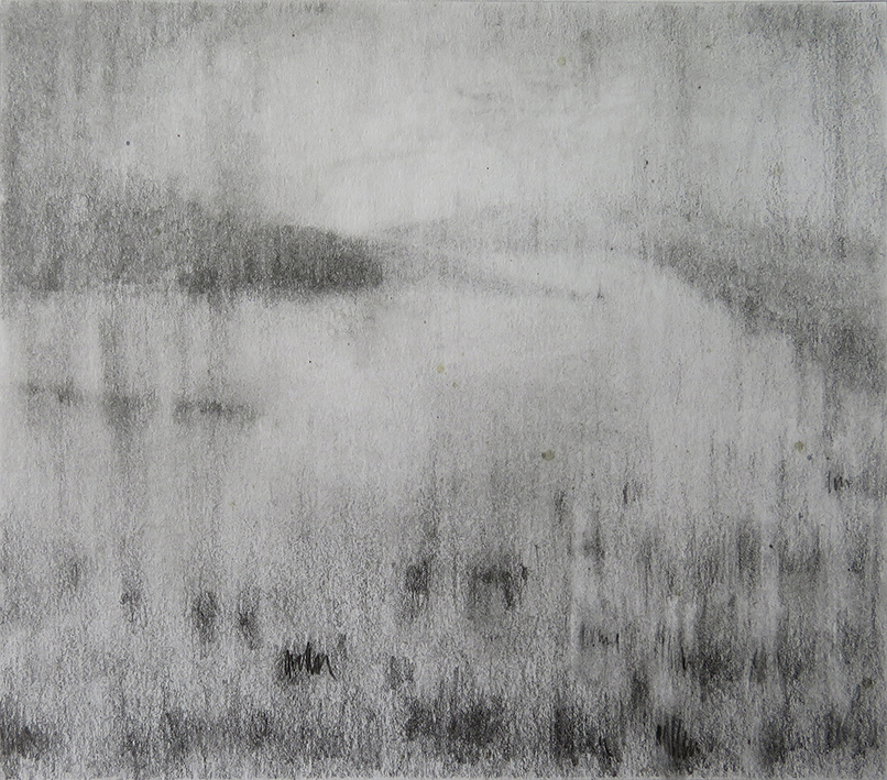 001 - TR - Untitled 1 (Fatigue of early light - Mist's cover) (14x16) prep drawing