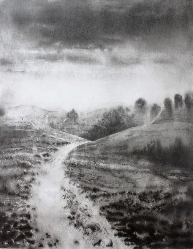 029 - TR - White ghost path (200x150cm) pencil and graphite on paper.jpg
